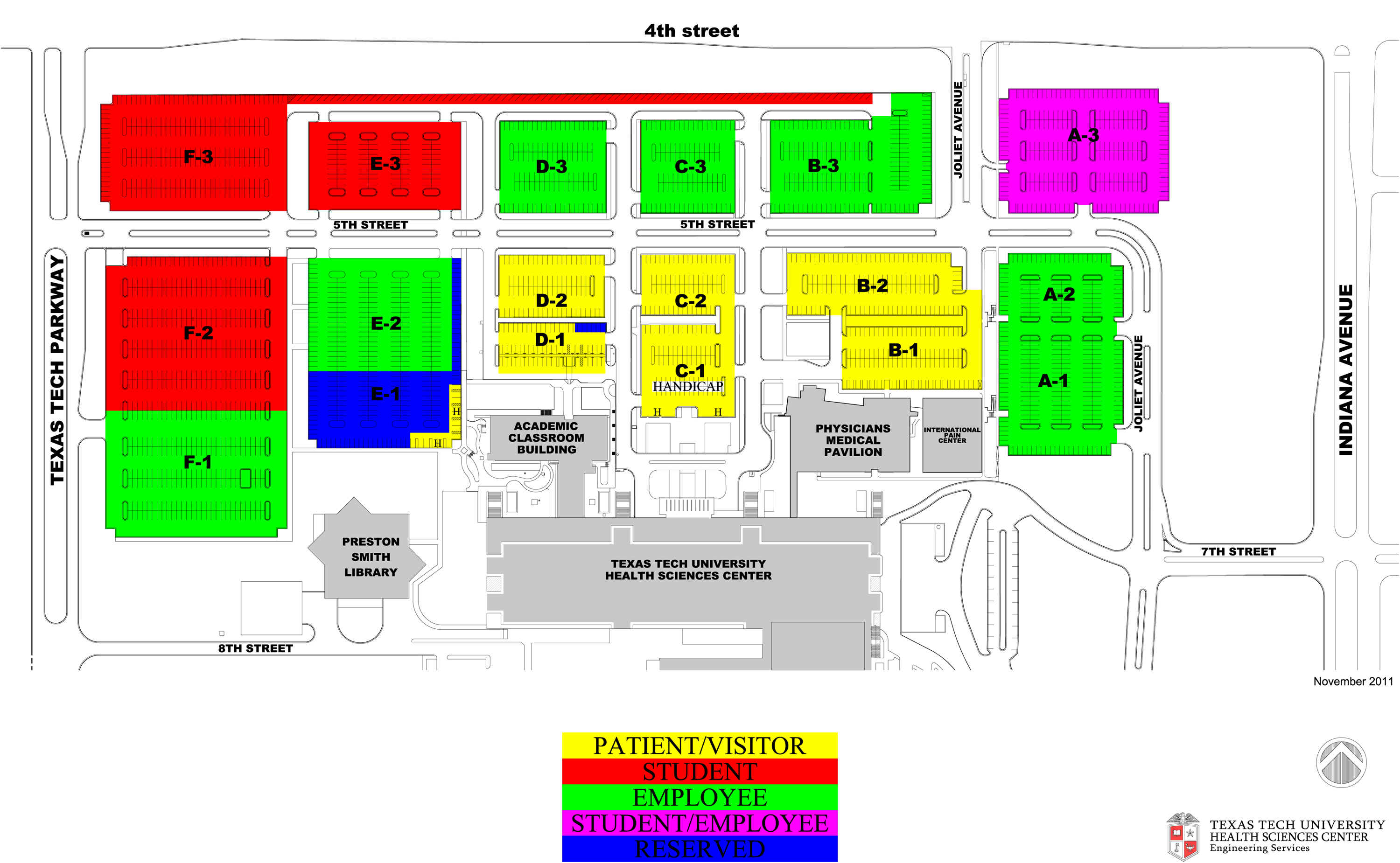 2015 Parking Maps | Parking Lot Construction Archive | Parking ...