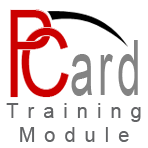Purchasing Card Training Module
